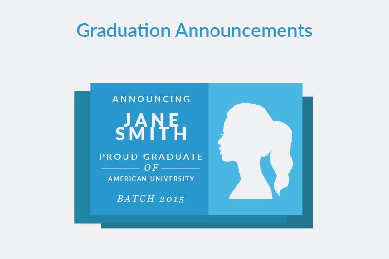 Graduation announcement etiquette graduationsource graduation announcement filmwisefo