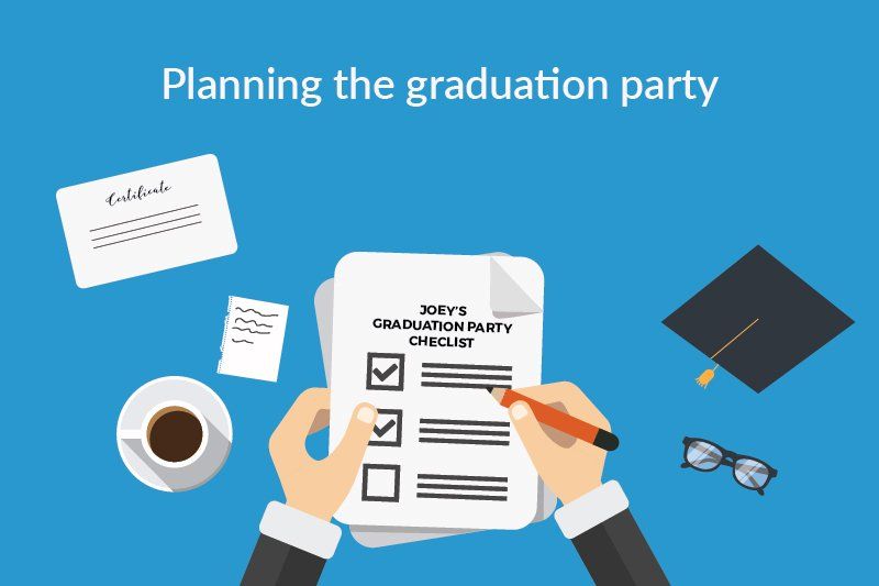 planning the graduation party