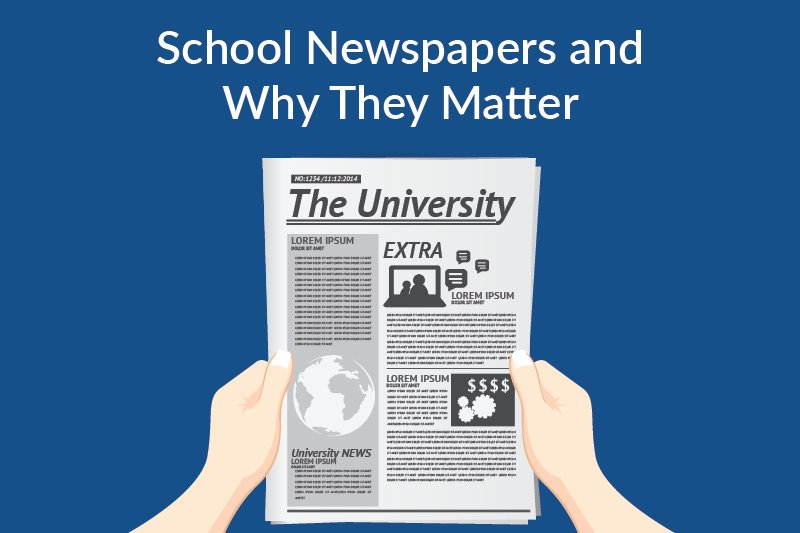 school newspapers and why they matter