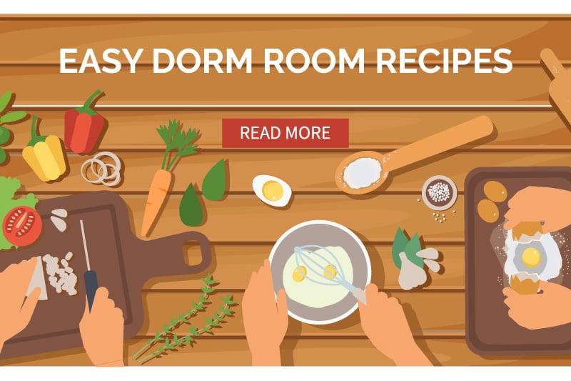 easy dorm room recipes