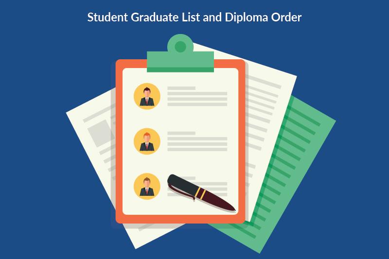 steps organizing final graduation details 1