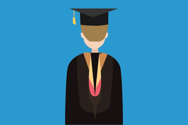 Graduation Hood Instructions