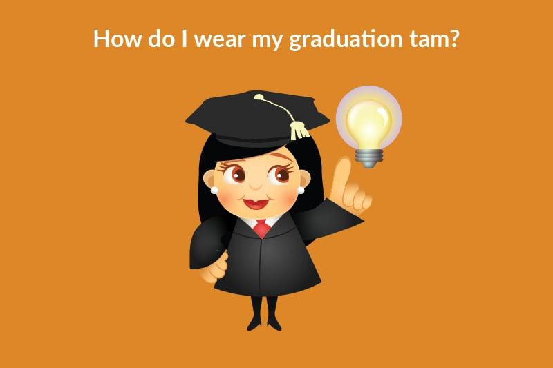how to wear graduation tassel