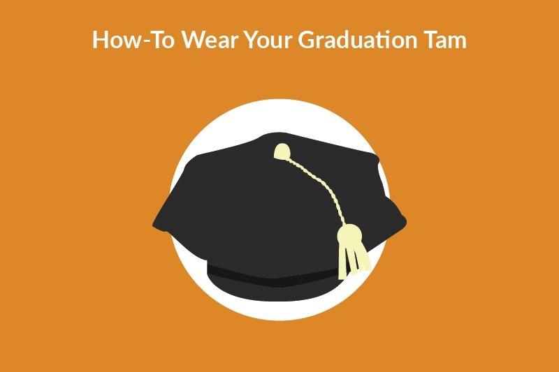how to wear your graduation tam