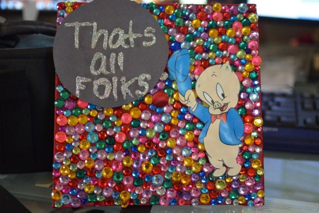 porky pig thats all folks