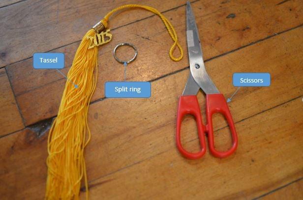 Graduation Tassel Keychain