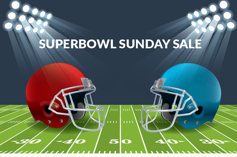 superbowl sunday sale