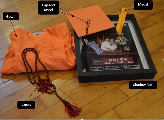5 Super easy steps to show off your graduation memories. -