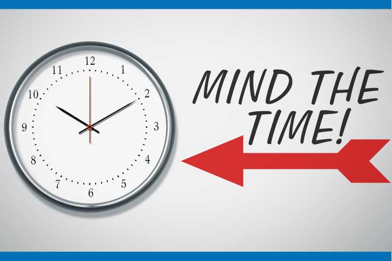 mind the time
