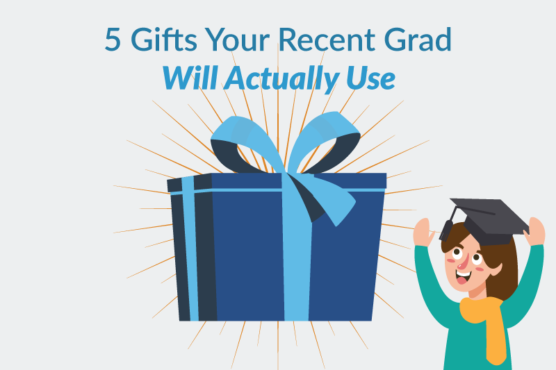 5 gifts for recent grad