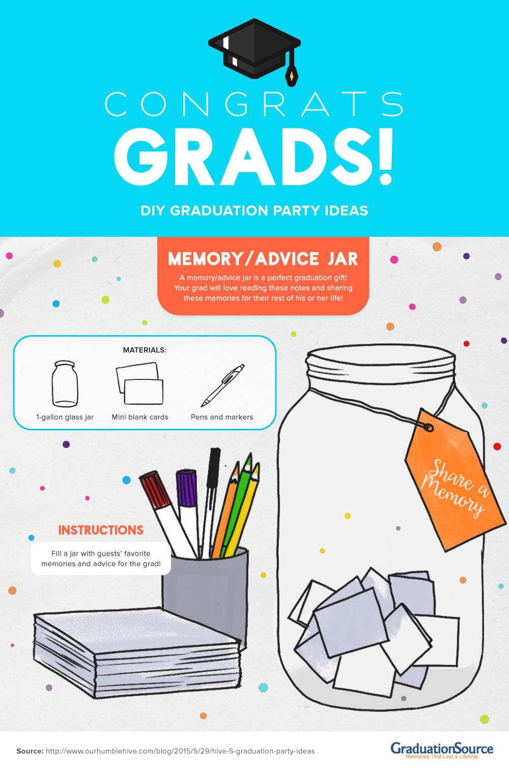 DIY Graduation Party Ideas 1