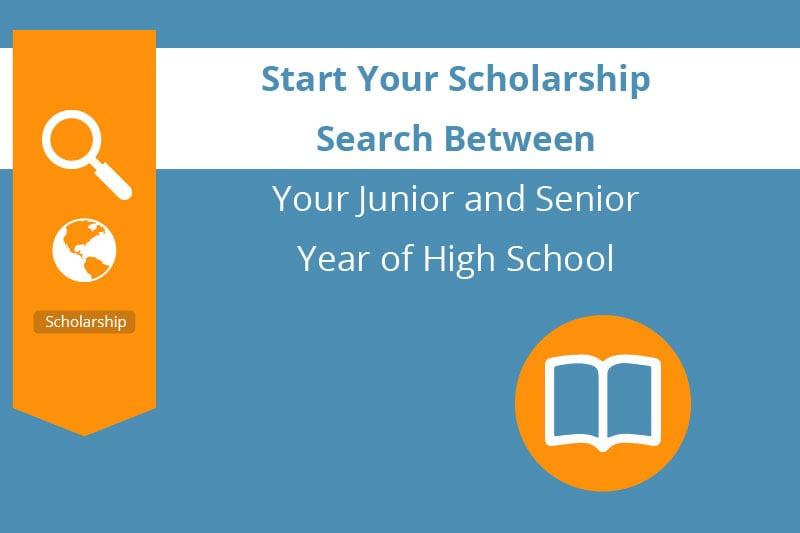 high school senior scholarship resume