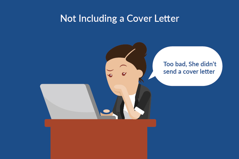 job search mistakes - cover letter