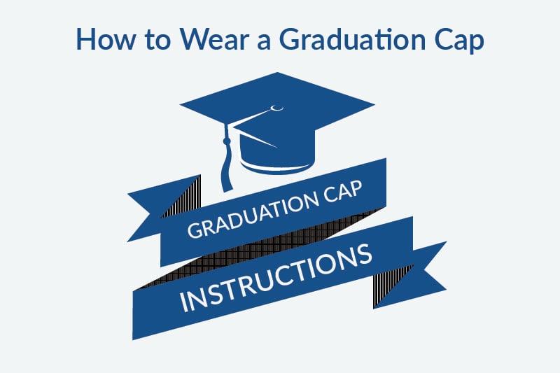 graduation cap instructions logo