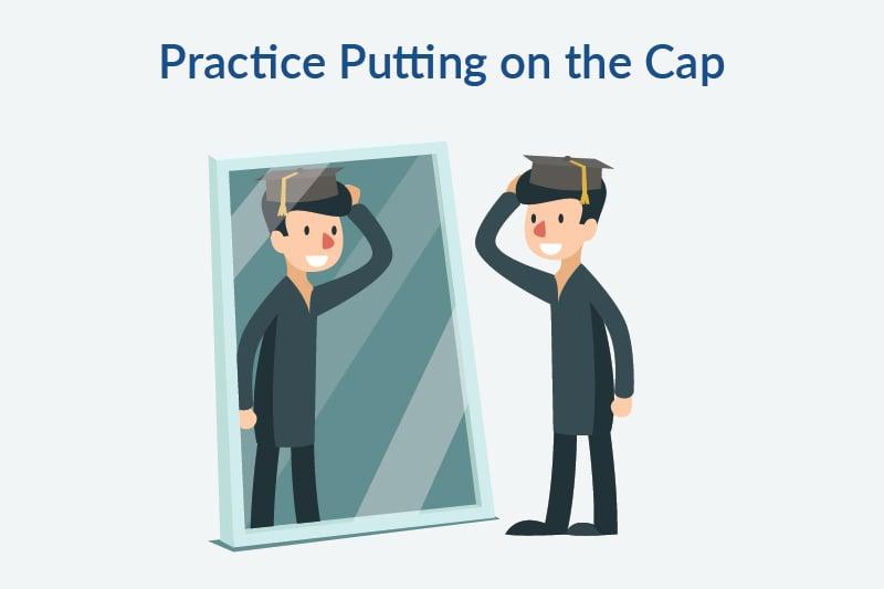how to wear a graduation cap 1