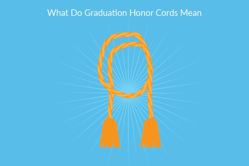 Graduation Honors - Graduation Honor Cord Montage
