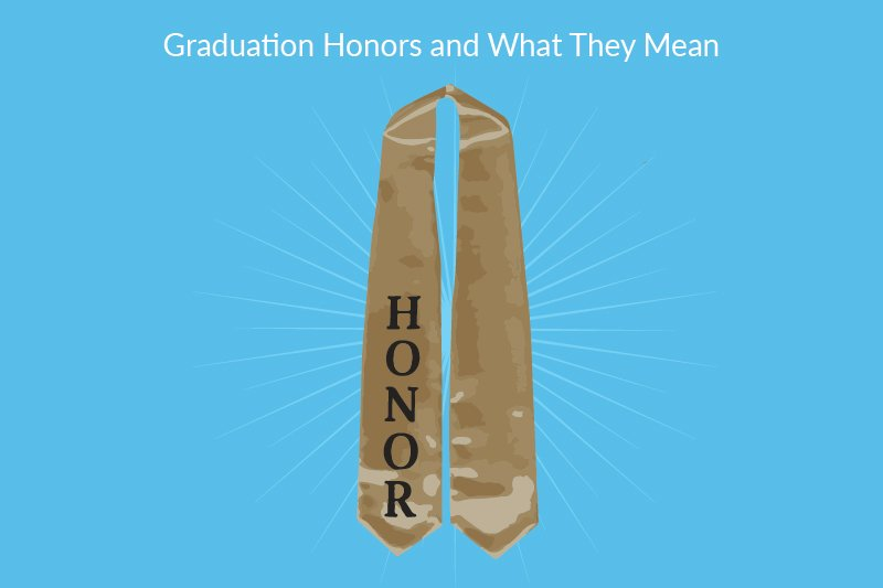 graduation honor sash