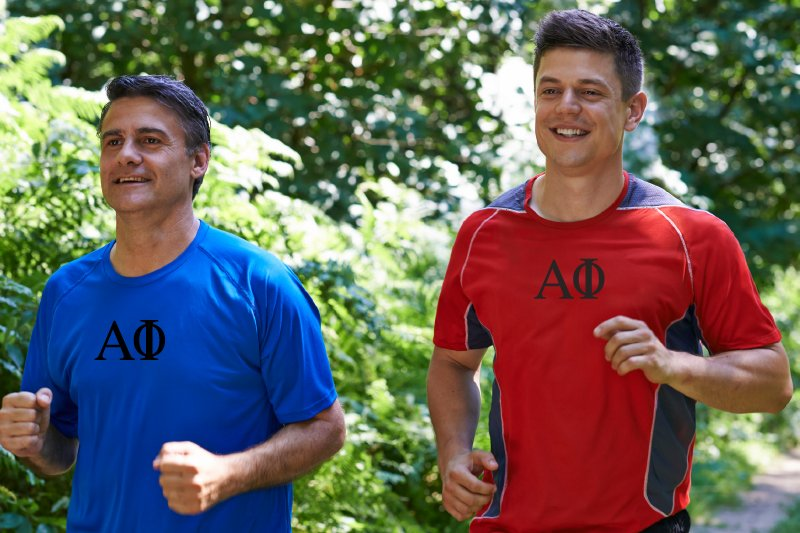 Fraternity Choices - Father and Son in Same Greek Letter Clothing