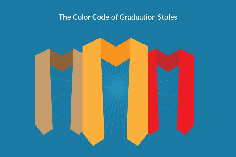 color code of graduation stoles