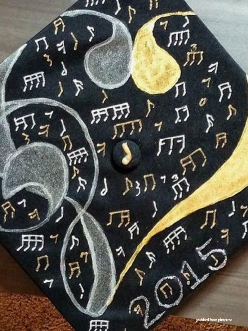 Decorating Graduation Caps 4
