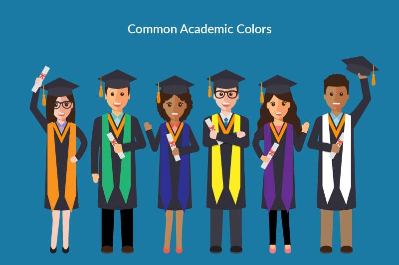 Graduation Stole - Color Codes