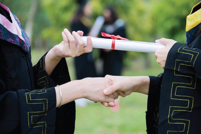 Graduation vs. Commencement Ceremony 2
