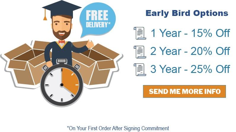 Early Bird Sale / GraduationSource Preorder Program 3