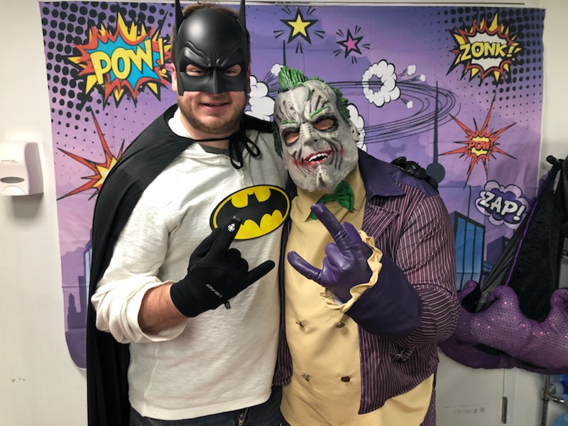 batman and joker costume