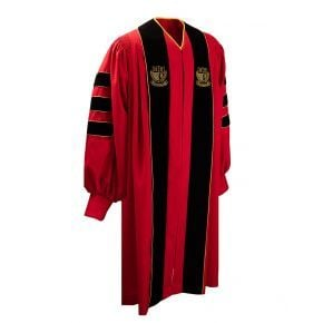 Elite Doctorate Gown - Custom Colors & Embroidery Available