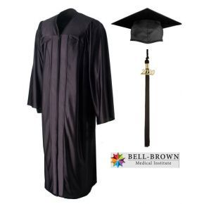 Bell-Brown Medical Institute - Medical Assistant- Cap, Gown & Tassel