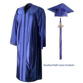 Brandford Hall Institute - Albany - Graduation Cap, Gown & Tassel
