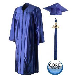 Core Placer Charter School Graduation Cap, Gown & Tassel