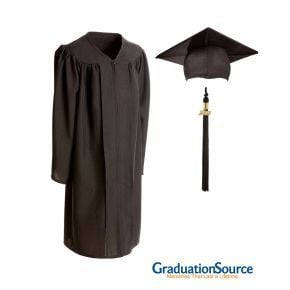 Demo Academy Child Cap, Gown & Tassel