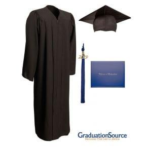 Demo Academy Cap, Gown, Tassel & Diploma