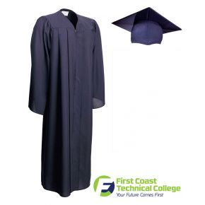 First Coast Technical College - Graduation Cap, Gown & Tassel