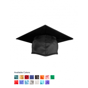 Child Shiny Graduation Cap Only