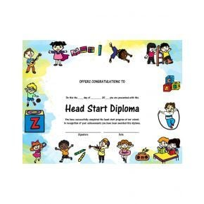 Head Start Diploma - Version 2