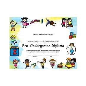 Pre-Kindergarten Diploma - Version 2