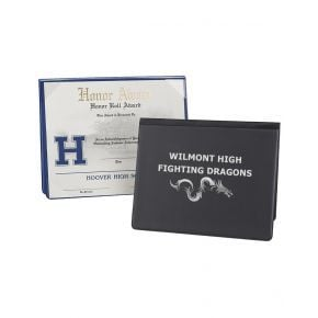 Unpadded Vinyl Custom Diploma Cover