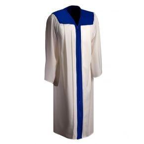 2 Color Graduation Gown
