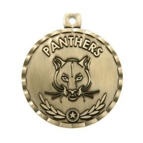 Panther Mascot Medal