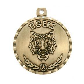 Tiger Mascot Medal