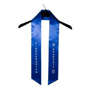 Child Kindergarten Imprinted Royal Sash