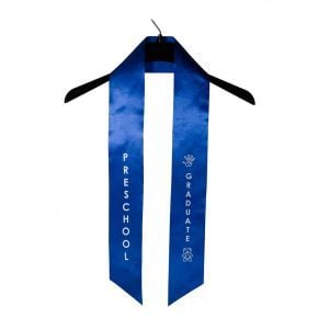 Child Preschool Imprinted Royal Sash