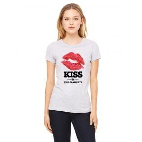 Kiss The Graduate Graphic T-Shirt