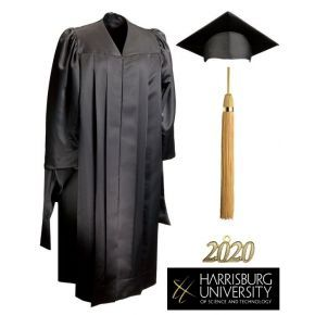 Harrisburg University of Science and Technology - Masters Cap, Gown & Tassel