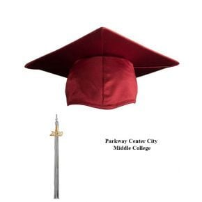 Parkway Center City Middle College - Cap & Tassel