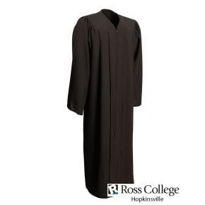 Ross College Hopkinsville - Black Matte - Faculty Graduation Gown