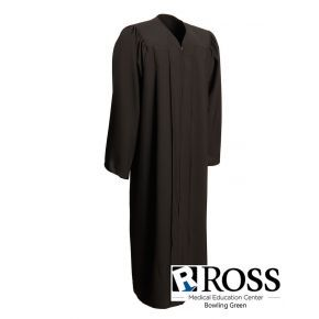 Ross Medical Education - Bowling Green - Black Matte Graduation Gown