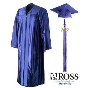 Ross Medical Education - Huntsville - Royal Blue Cap, Gown & Tassel